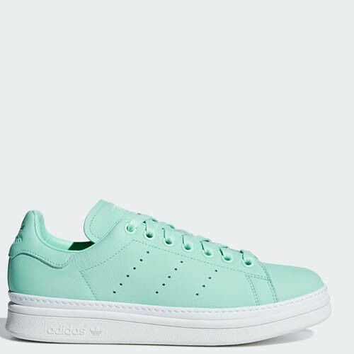 Women Adidas BB7776 Stan smith New Bold Casual shoes bluee sneakers
