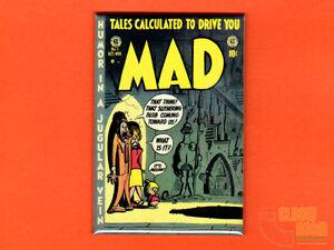 "Mad issue no. 1 cover 2x3"" fridge/locker magnet ec comics magazine"