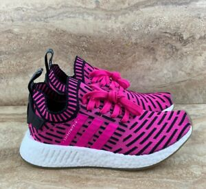 e3d84ac9a9a5f Adidas NMD R2 Primeknit Men s Running Shoes Japan Shock Pink