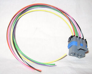 s l300 4l60e 4l80e neutral safety switch connector pigtail, 7 wire mlps  at eliteediting.co