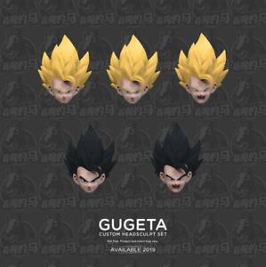 Demoniacal-Fit-Custom-Headsculpt-Set-Yellow-Hair-Black-Hairfor-SHF-Gogeta-Toy