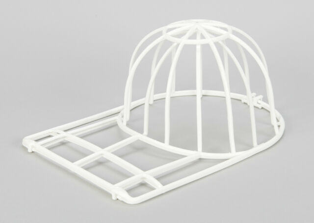 Ballcap Buddy Cap Washer Hat Washer Seen on SHARK TANK  Cap Cleaner Cage WHITE