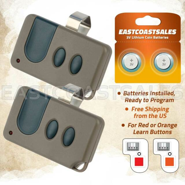 Marantec 97245 315 MHz Three Button Remote Garage Door Opener