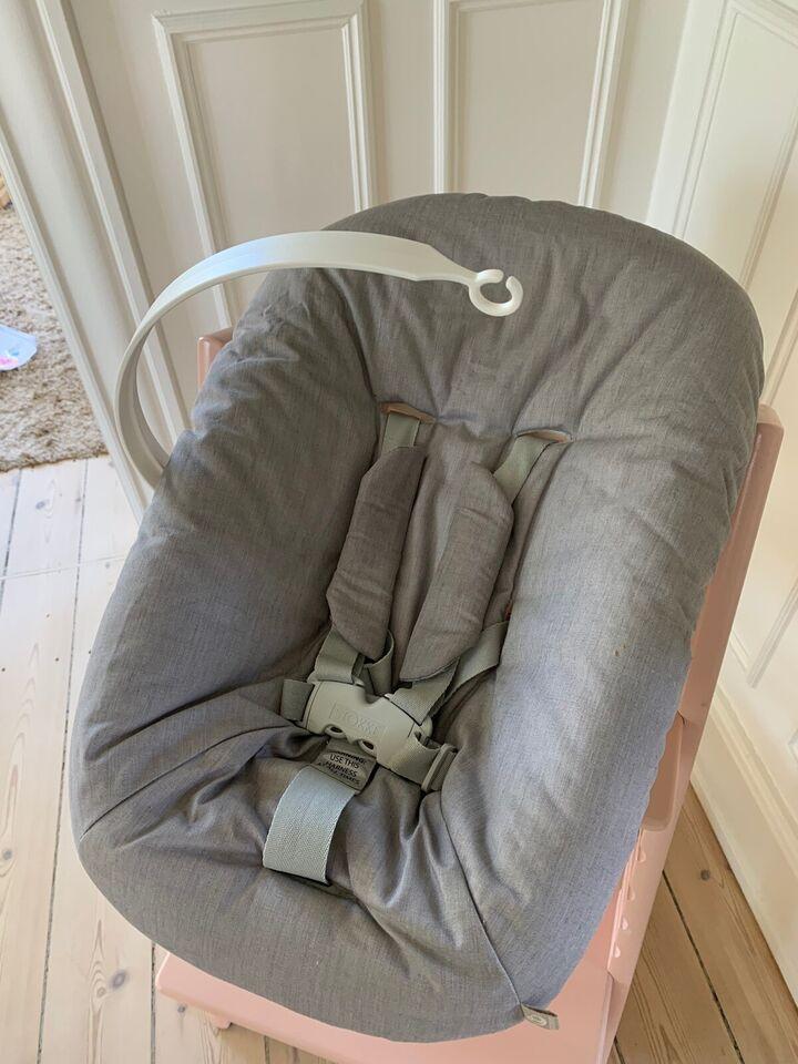 Skråstol, Stokke babyindsats