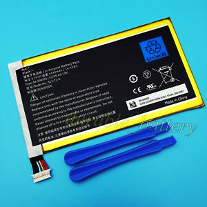 """NEW OEM Battery For Amazon Kindle Fire HD 7/"""" P48WVB4 26S1005 58-000055 4400mAh"""