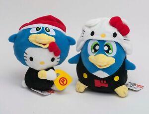 Sanrio-Hello-Kitty-x-Donpen-Penguin-2-Plush-Don-Quijote-Japan-Limited-Kawaii