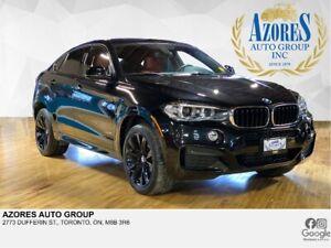 2016 BMW X6 M Sport Pack|Red Interior|xDrive AWD|Nav|Only 55km