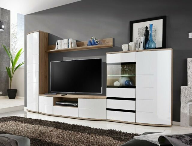 Timore 1 - entertainment wall unit / modern tv entertainment stand