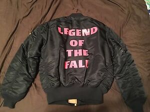 New the weeknd x alpha industries legend of the fall bomber image is loading new the weeknd x alpha industries 034 legend gumiabroncs Choice Image