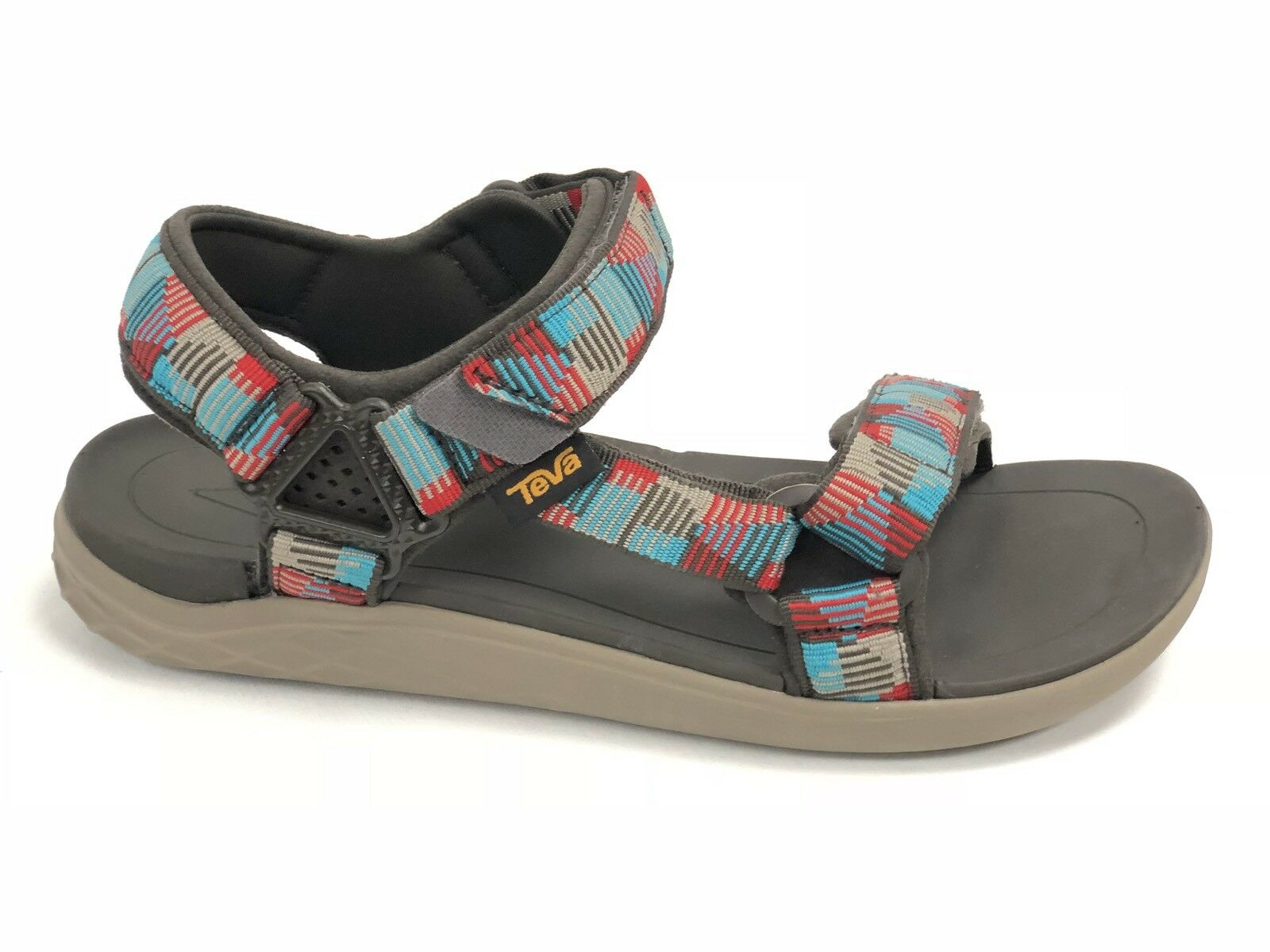 Ugg Australia Women's Shoe Size 6.5 M  Metallic Patent Leather Flat Sandal NIB