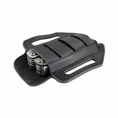 Leather Tool Sheath Single Pocket Multitools Holder Essentials Organizer