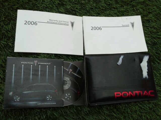 2006 Pontiac Torrent Owners Manual Oem See Photo