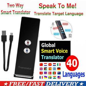 Übersetzung MUAMA Intelligente Sofortige Echtzeit-Stimme Sprachen Übersetzer