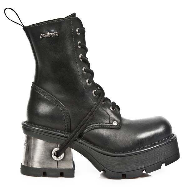 New Rock bota botas señora Gothic negro m.8355-s1