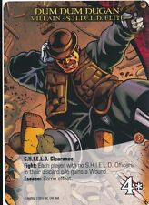 DUM DUM DUGAN Upper Deck Marvel Legendary VILLAIN S.H.I.E.L.D. ELITE