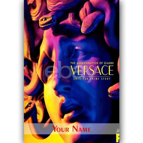 New The Assassination of Gianni Versace season 1A Custom Silk Poster Wall Decor