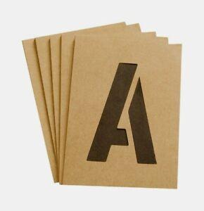 Number /& Letter STENCILS 3 Tan,Hy-Ko ST-3 Number /& Letter Stencils