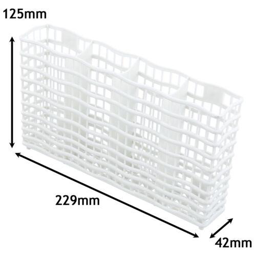 AEG ELECTROLUX ZANUSSI Dishwasher Cutlery Basket Slimline Small White
