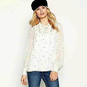 Ex-Debenhams-Transparent-Femmes-Brode-Femmes-Top-Plus-Taille-8-10-12-14-16-18