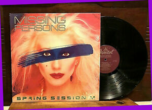 Spring-Session-M-by-MISSING-PERSONS-12-034-LP-1982-Capitol-12228-Progressive-Rock-EX