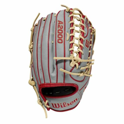 "2021 Wilson A2000 OT7SS 12.75/"" SuperSkin Outfield Baseball Glove WBW1001041275"