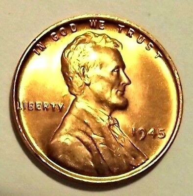 Uncirculated 1941-S Lincoln Wheat 1c #1 CHOICE BU//RED from OBW roll.+WE COMBINE