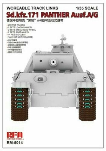 Rye Field Model RM-5014 1//35 Workable Track for Sd.kfz.171 Panther Ausf.A//G