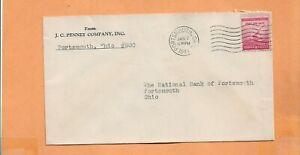 J. C. Penique Copmpany Incluye 1941 Portsmouth Ohio Clásico Publicidad Cubierta