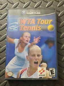 WTA-Tour-Tennis-Complete-Good-Condition-Nintendo-GameCube-2002