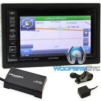 Alpine Ine-w960hdmi 6.1 Cd Dvd Gps Bluetooth Navigation Sirius Xm Tuner Iphone