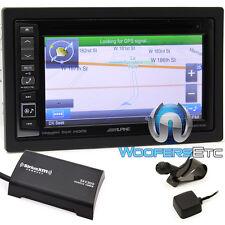 "ALPINE INE-W960HDMI 6.1"" CD DVD GPS BLUETOOTH NAVIGATION SIRIUS XM TUNER IPHONE"