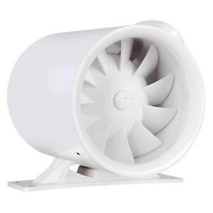"""VIVOSUN 6"""" inch Inline Duct Plastic Fan Ventilation Mixed Flow Air Blower 252CFM"""