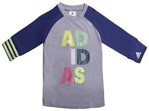 adidas-Performance-Girls-Rock-It-3-4-Long-Sleeve-Tee-Age-3-4-9-10-Grey-RRP-20