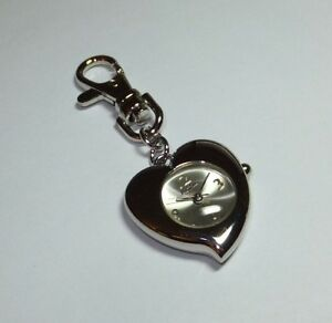 Activa by Invicta Quartz Heart Key Ring Watch