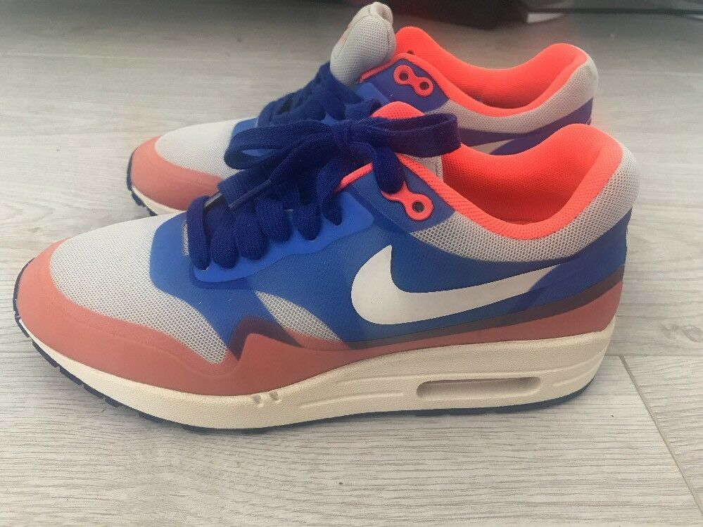 Nike Air Max 90 - Neon Orange / Blau - 90 Größe 4 UK - Unisex be0069