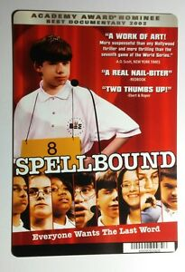 SPELLBOUND-DOCUMENTARY-COVER-ART-MINI-POSTER-BACKER-CARD-NOT-a-movie