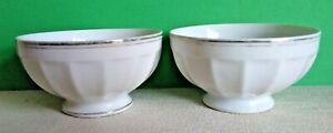 Two-Plain-Vintage-French-cafe-au-lait-coffee-bowls-Kitchenalia-A1129