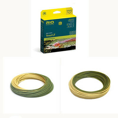 Rio Trout LT Fly Line WF6F Camo Beige Free Fast Shipping 6-21523