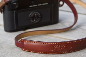 Leather-Camera-Strap-Brown