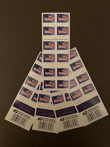 US USPS Forever Flag Stamps 1st Class 100 Stamps Postage New Self-Adhesive