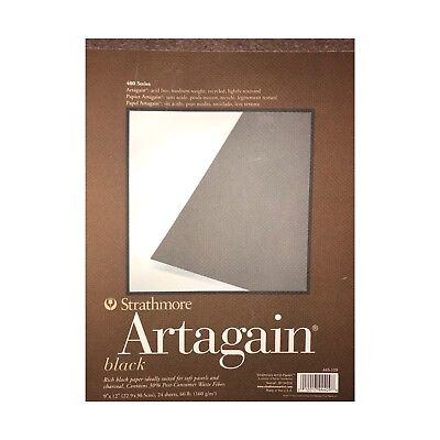 """9x12/"""" Strathmore 400 Series Artagain Recycled Colored Paper Pads 9X12/"""","""