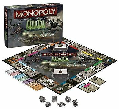 Monopoly: Cthulhu - H.P. Lovecraft Classic Property Trading Board Game NEW