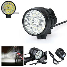 30000LM 11x Cree XML T6 Zoomable Military LED Bicycle Light Headlight Torch Lamp