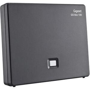 IP-analog-Basisstation-Siemens-Gigaset-E630A-Go-Box-100-mit-Anrufbeantworter-NEU