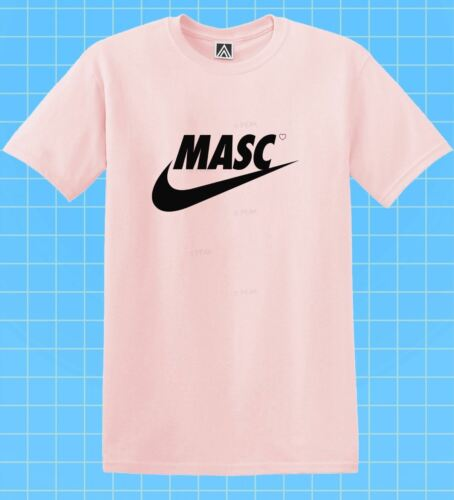 Masc Swoosh T-shirt GAY LGBT Fem Indie Tee Pride Bottom Drag Race Dom Top