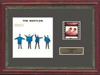 THE BEATLES HELP! FRAMED 35MM FILM CELL