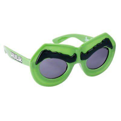 Iniziativa The Incredible Hulk Avengers 100% Uv Shatter Resistant Costume Occhiali Da Sole Grande Assortimento