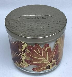 1-Bath-amp-Body-Works-CHESTNUT-amp-CLOVE-3-Wick-Scented-14-5-oz-Candle
