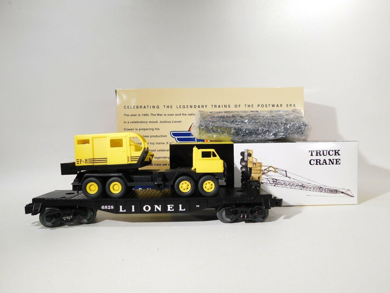 Lionel O Gauge 6828 autoro con harnischfeger costruzione 629486 C 129  TOTES 1