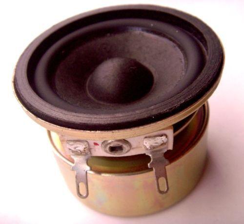 Promotion 2pcs 2 inch 50mm round full range Anti-magnetic speaker for diy